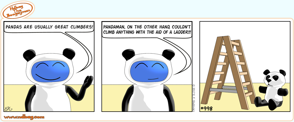 Comic Strip 998|Ndbag The Boogeyman