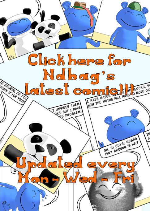 Ndbag The Boogeyman Comic Strip