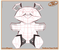 Ndbag The Boogeyman Papercraft Model 1